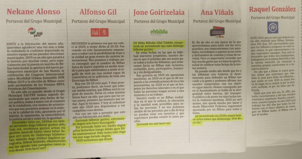 """""""Soñamos con un Bilbao euskaldun"""""""