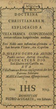 Joseph Ochoa de Arin
