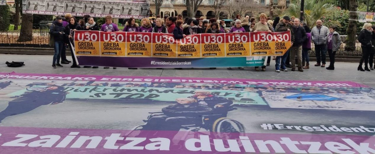 Urtarrilak 30, greba orokorrerantz Euskal Herrian