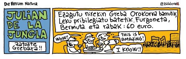 [Azalak] #U30GrebaOrokorra gaurko egunkarietan