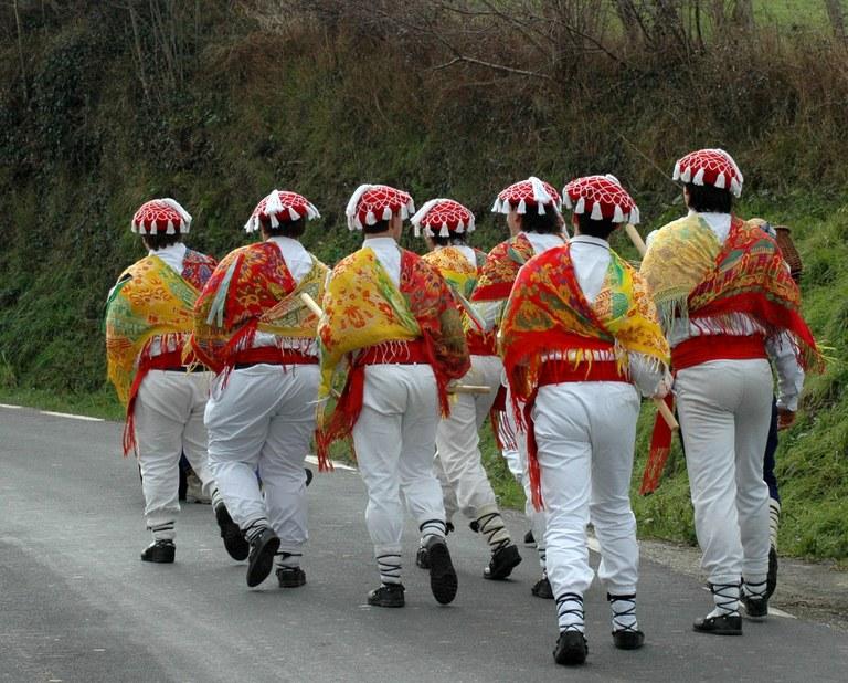 Txantxoak, Abaltzisketa, 2005-02-06. (Oier Arolaza)
