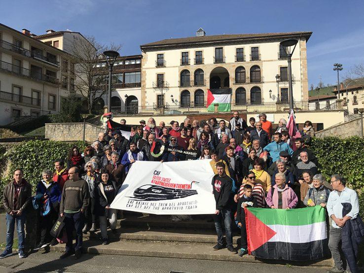 CAF jaitsi zaitez Israelen apartheidaren trenetik!