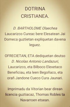 Bartholome Olaechea