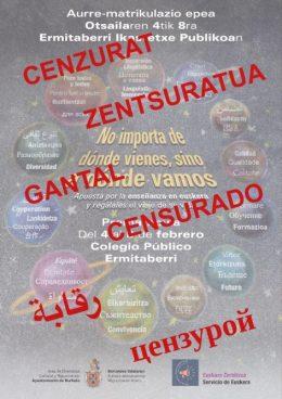 Navarra Suma kulturen arteko bizikidetzaren eta euskararen aurka agertu da Burlatan