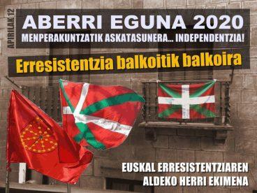 Euskal Herria, Covid-19 bezain ikusezin