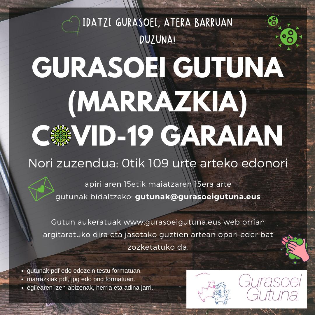 Gurasoei gutuna Covid-19 garaian