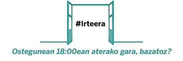 Pasilloa ez da #irteera