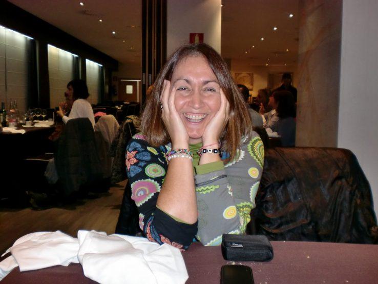 Alazne Fernandez, bidelaria