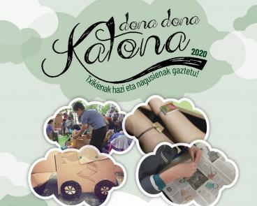 Dona Dona Katona zikloko lantegietarako gonbidapenak eskuragarri