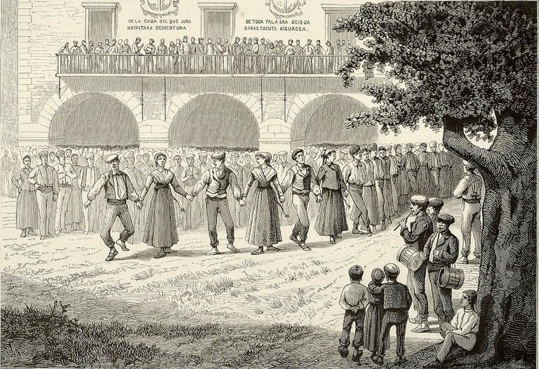 Azpeitian, 1840. urtean, aurresku batean hamabi kabriola ikusi zituen Dembowski italiarraren kronika (I)