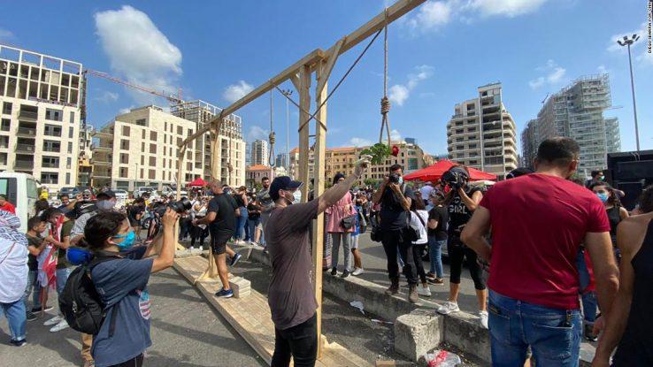 Arduragabekeriak eztanda egin du Beiruten