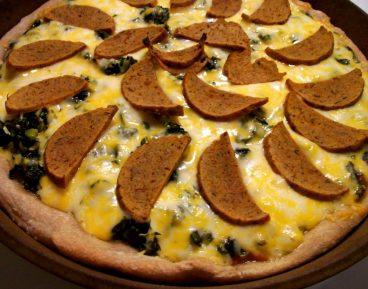 Asteburu honetan: Seitan pizza