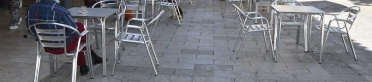 Madrilgo taberna bateko terrazan gertatu zitzaigun