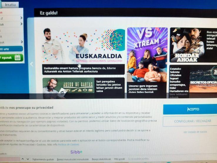 EITB digitala Euskaraldian, ez ahobizi, ez belarriprest