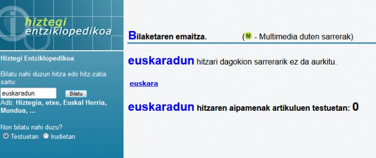 Euskal -DUN herritarrak