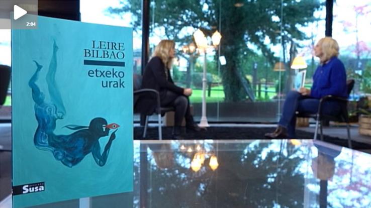 Arte[faktua] 108: Leire Bilbao eta bere 'Etxeko urak', larunbat honetako 'Artefaktua'n