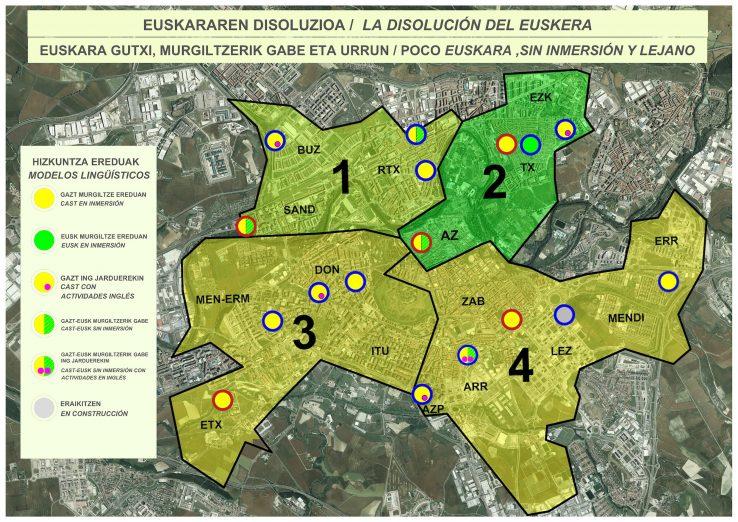 Iruñeko euskarazko Haur Eskolen aldeko mobilizazioa GAUR