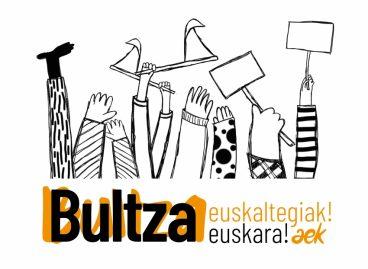 Bultza euskaltegiak! Bultza euskara!