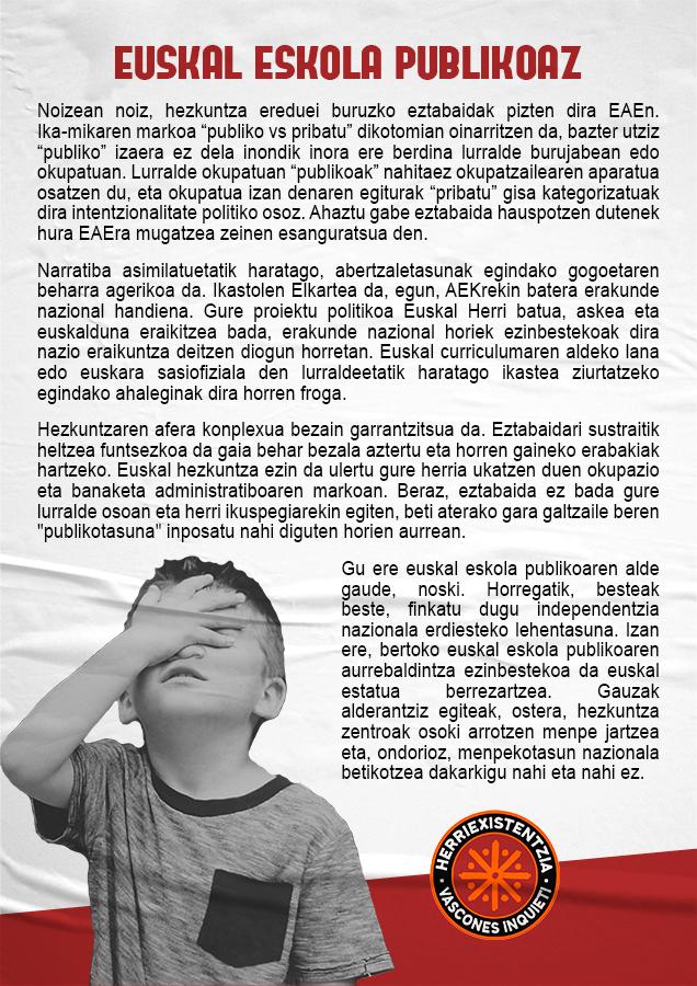 Euskal Eskola Publikoaz