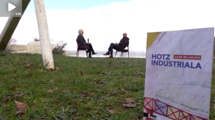 Arte[faktua] 112: 'Hotz industriala' da Julen Belamunoren hirugarren liburua