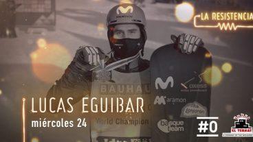 Lucas Egibar snowboardercrosseko munduko txapelduna La Resistencia saioan