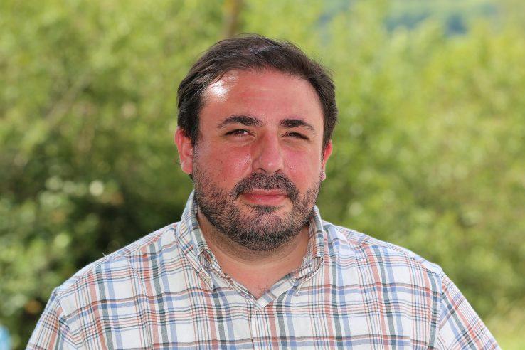 Nafarroako Parlamentuko Presidente Unai Hualderi
