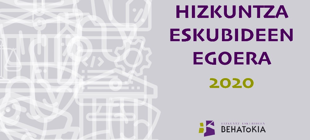 Hizkuntza Eskubideen Egoera 2020