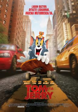 [Zinema Euskaraz] Tom eta Jerry