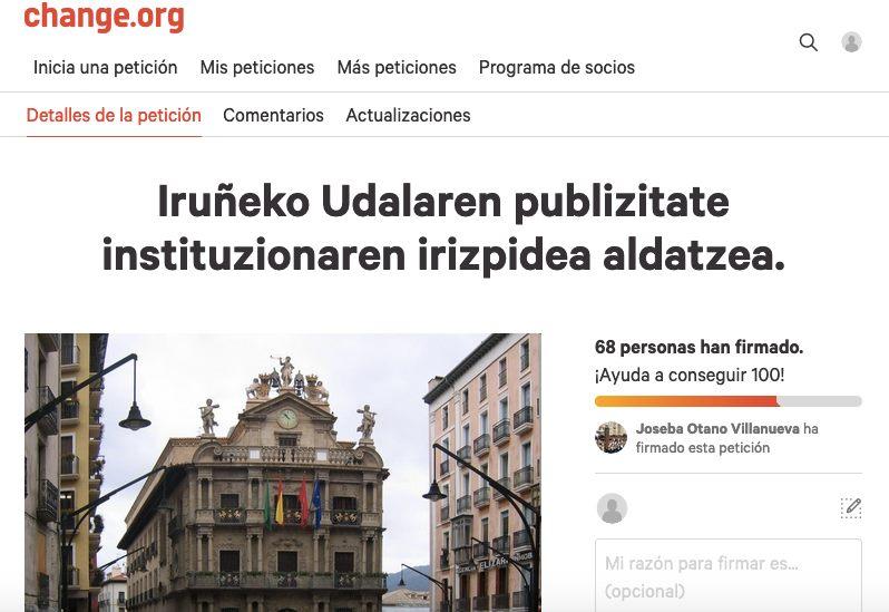 Iruñeko Udala: EZ baztertu euskarazko hedabideak!