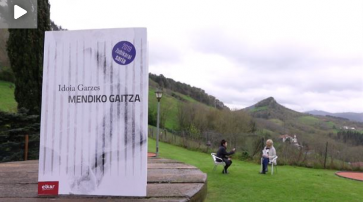 Arte[faktua] 120: Idoia Garzes gipuzkoar kazetari eta idazlea, larunbat honetako 'Artefaktua'n