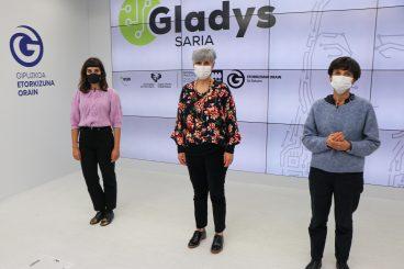 Gladys Saria, ingurune digitaleko emakumezko profesionalen saria