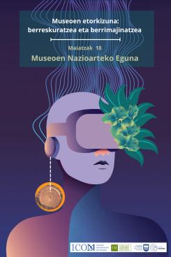 Museoen Nazioarteko Eguna 2021 kartela
