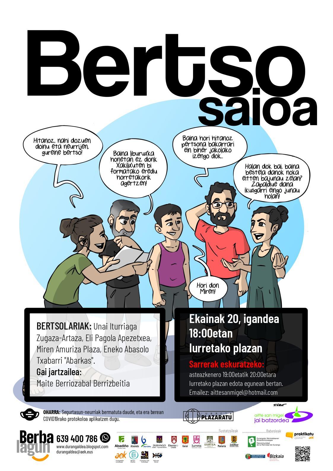 Poltsikorako hitanoa liburuxka argitaratu dute Durangaldeko berbalagunek