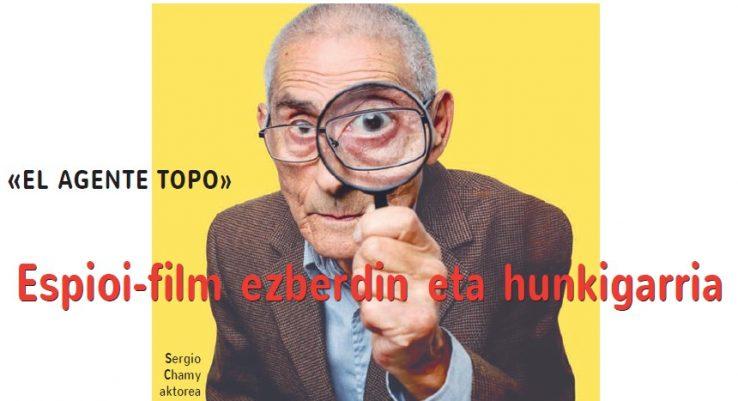Espioi-film ezberdin eta hunkigarria