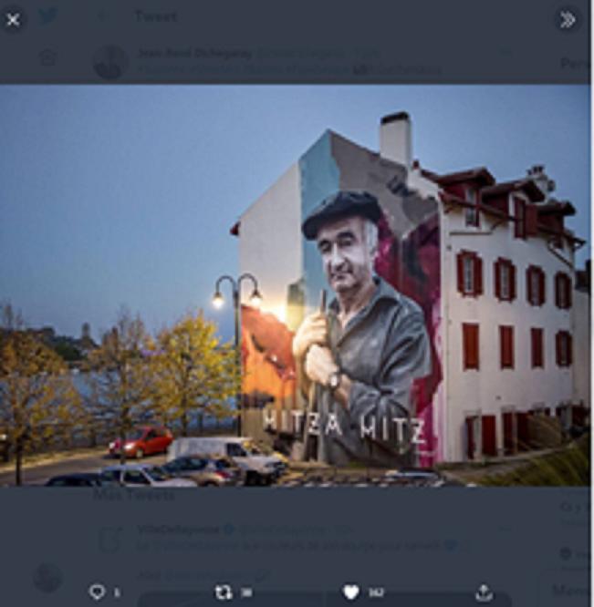 Street Art eta euskal balioak Baionan