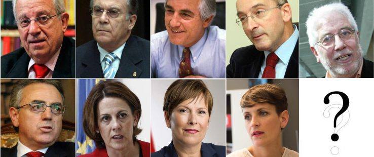 Nafarroako presidenteak eta trenbidea
