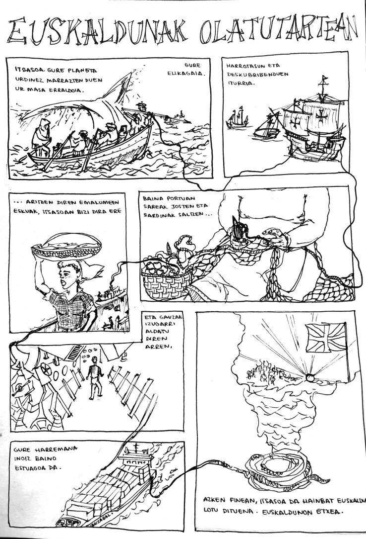13. Elkar ilustrazio eta ipuin lehiaketako irabazleak