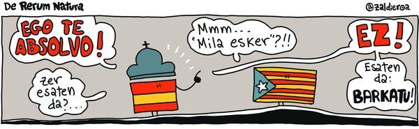 [Azalak] Kataluniako politikarien askatzea gaurko egunkarietan