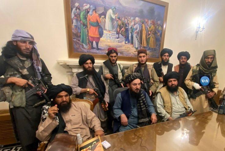Taliban gobernu berriaren lehenengo irudiak Afganistanen