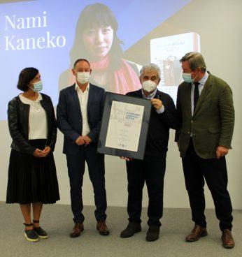 Nami Kaneko japoniarrak irabazi du Etxepare-Laboral Kutxa Itzulpen Saria