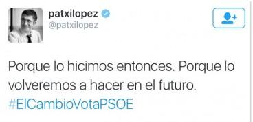 Patxi Lopez, atzo Lehendakari gaur presidente