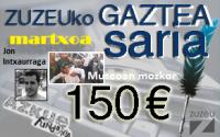 Jon Intxaurragak irabazi du martxoko Zuzeuko Gaztea Saria
