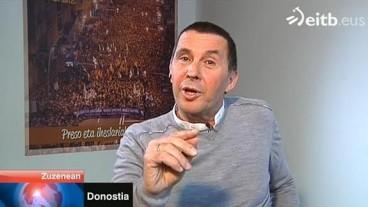Arnaldo Otegi Euskal Telebistan: diglosia?