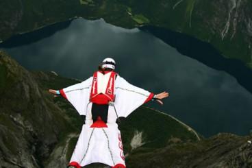 Hegan egiteko trapuak (wingsuit)