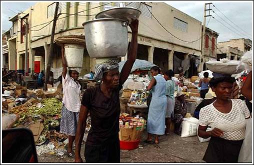 Haiti, lurrikararen aurretik