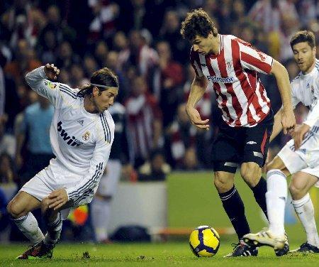 Athletic Real Madrili irabazten