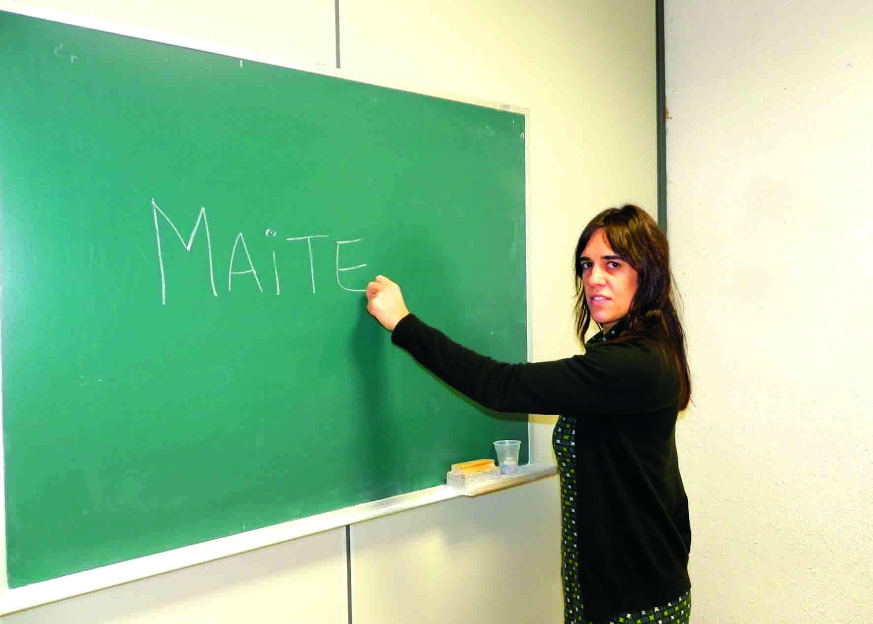 Maite Bilbao, Argentinan jaiotako euskalduna