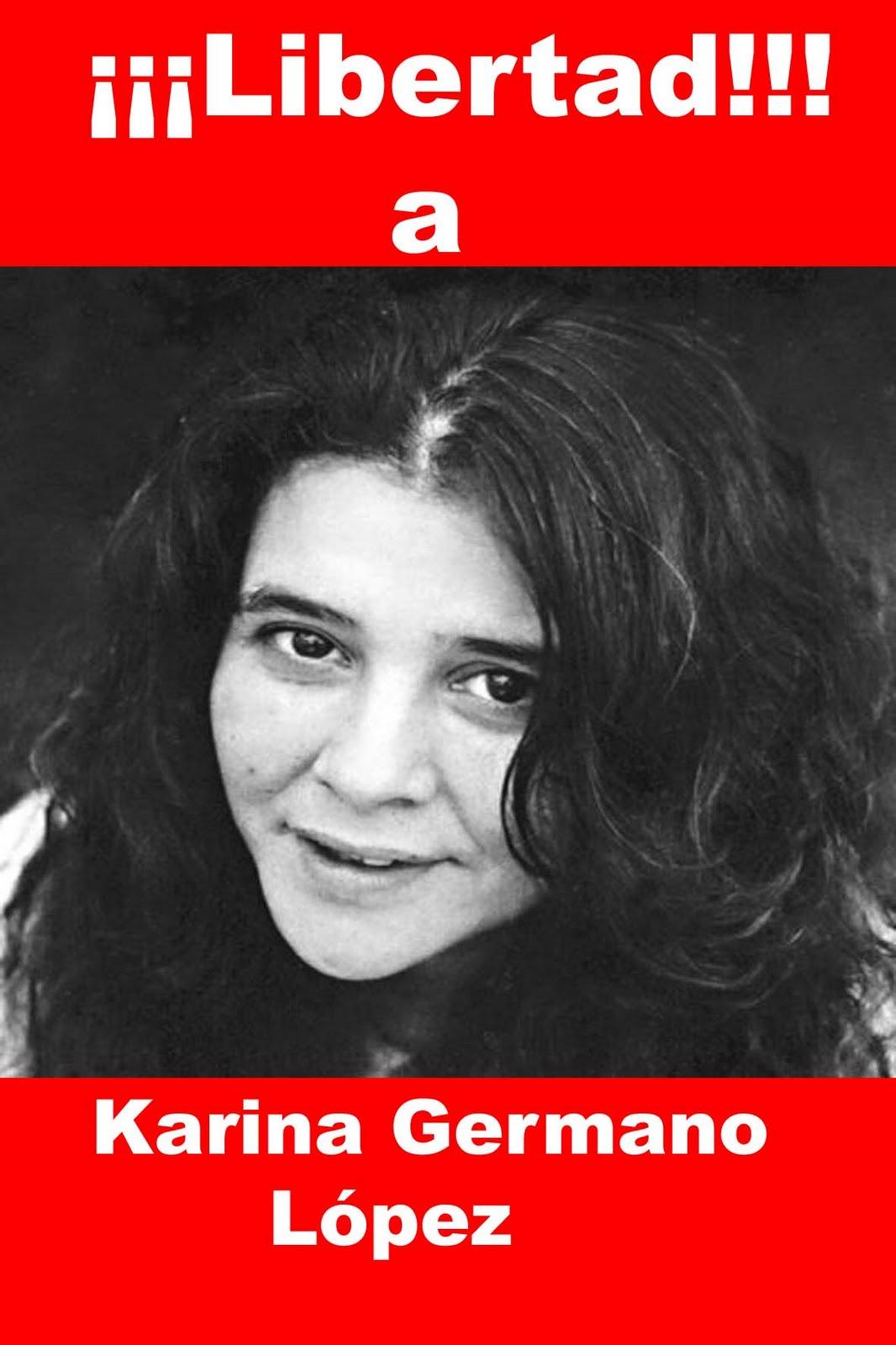 Karina Germanoren askatasuna eskatzeko kanpaina