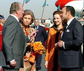 Espainiako errege-erreginak, Marokokoekin