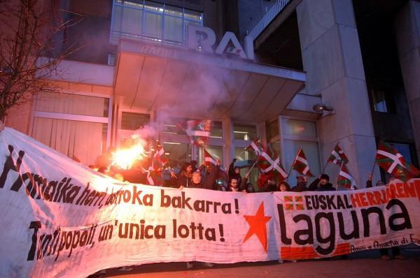 Milanon iaz izandako RAIren okupazioa